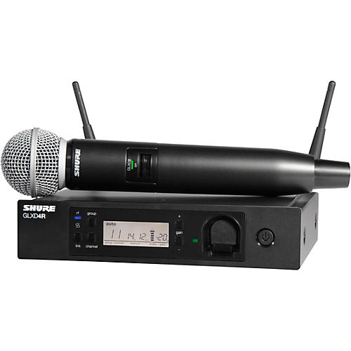 Shure GLXD24R/SM58 Handheld Wireless System-thumbnail