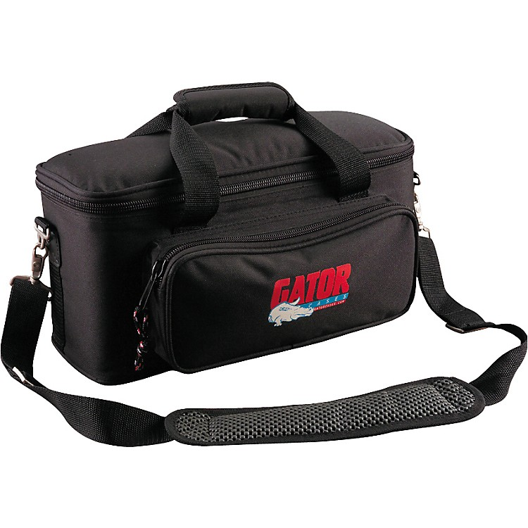 Gator GM Padded Gig Bag for Microphones  12 Mics