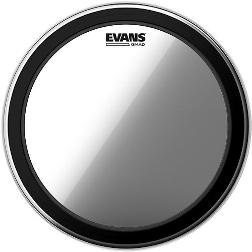Evans GMAD Clear Batter Bass Drumhead 24 in.