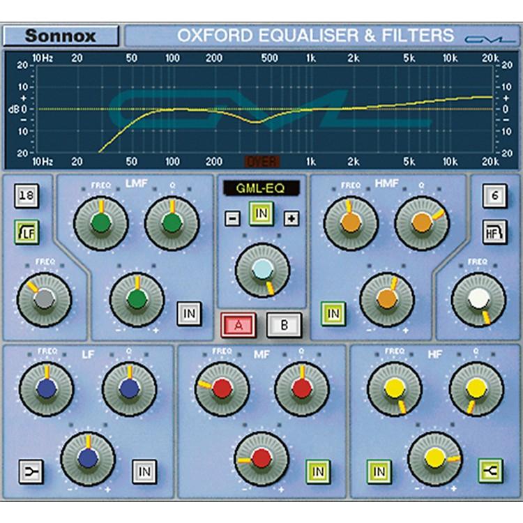 SonnoxGML Option for Oxford EQ (HD-HDX)