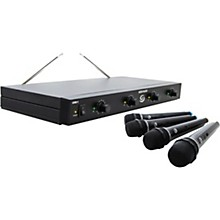Gem Sound GMW-4 Quad-Channel Wireless Mic System