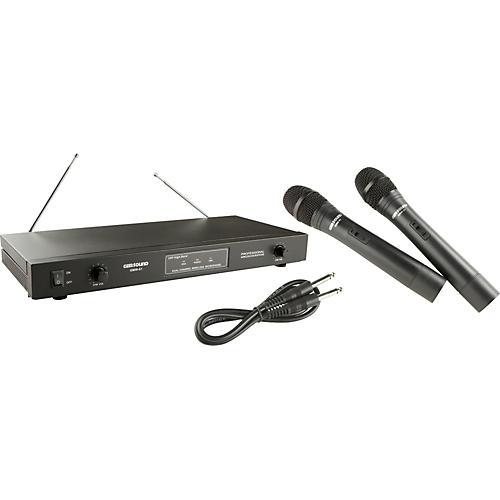 gem sound gmw 61 dual wireless microphone ab musician 39 s friend. Black Bedroom Furniture Sets. Home Design Ideas
