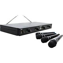 Gem Sound GMW4 Quad-Channel Wireless Mic System EF