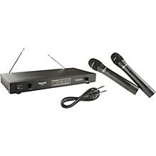Gem Sound GMW61 Dual Wireless Microphone AB