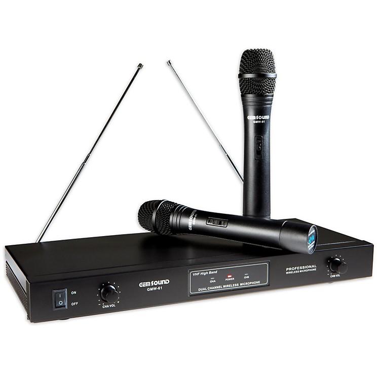 Gem SoundGMW61 Dual Wireless MicrophoneAB
