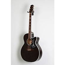 Takamine GN75CE Acoustic-Electric guitar Level 2 Transparent Black 888366045664