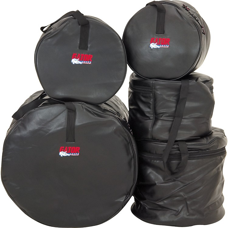 Gator GP-200 DLX Deluxe 5-Piece Drum Bag Set  Standard