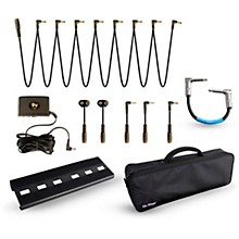 On-Stage Stands GPB2000 Pedalboard Bundle with Truetone 1 SPOT Power, Livewire Cables and Bag