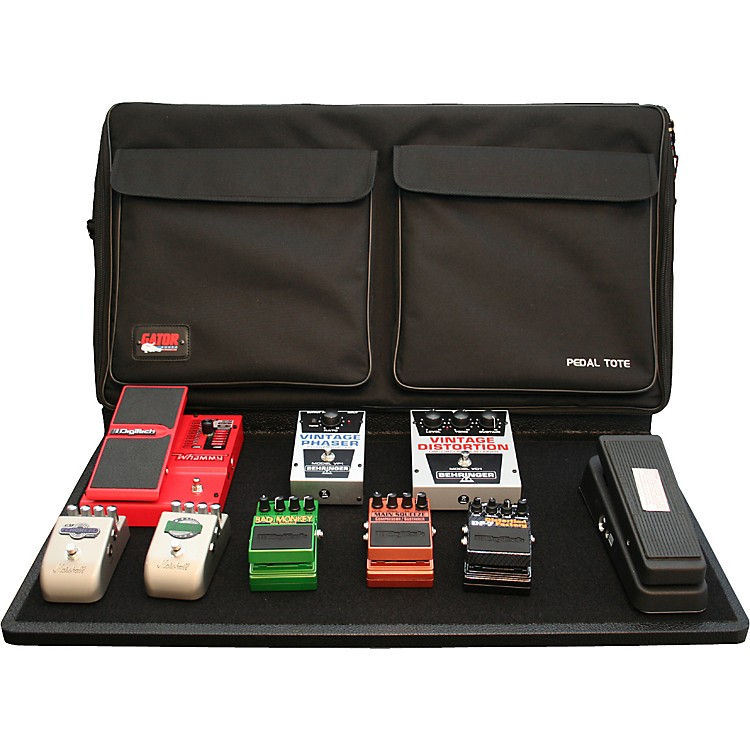 Gator GPT-PRO-PWR Powered Pedal Tote Pro Pedalboard with Bag