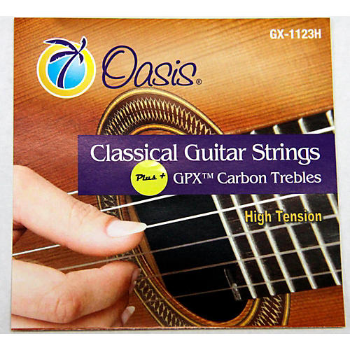 Oasis GPX+ Classical Guitar Carbon Trebles High Tension-thumbnail