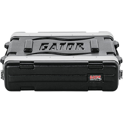 Gator GR-2S Shallow Rack Case Black