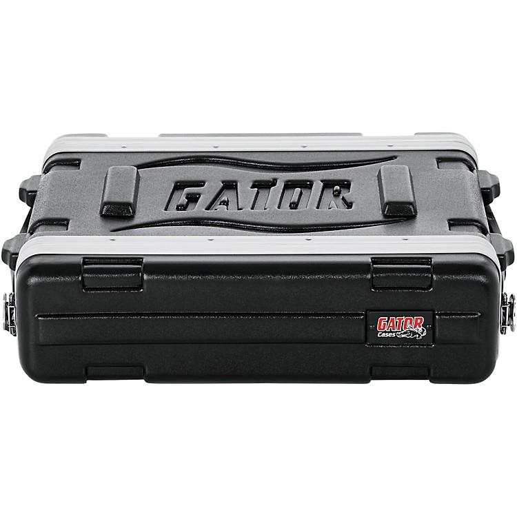 GatorGR-2S Shallow Rack CaseBlack