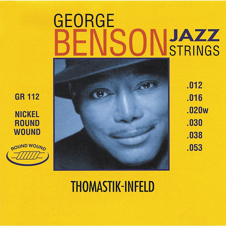 Thomastik GR112 George Benson Medium Light Custom Roundwound Guitar Strings