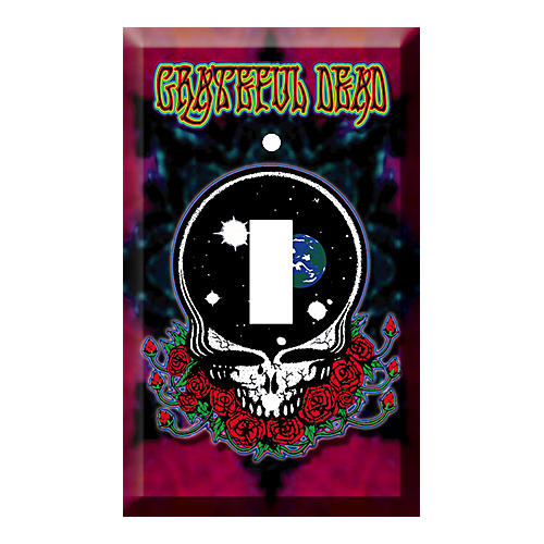 Gear One GRATEFUL DEAD SPACE YOUR FACE LIGHT SWITCH PLATE