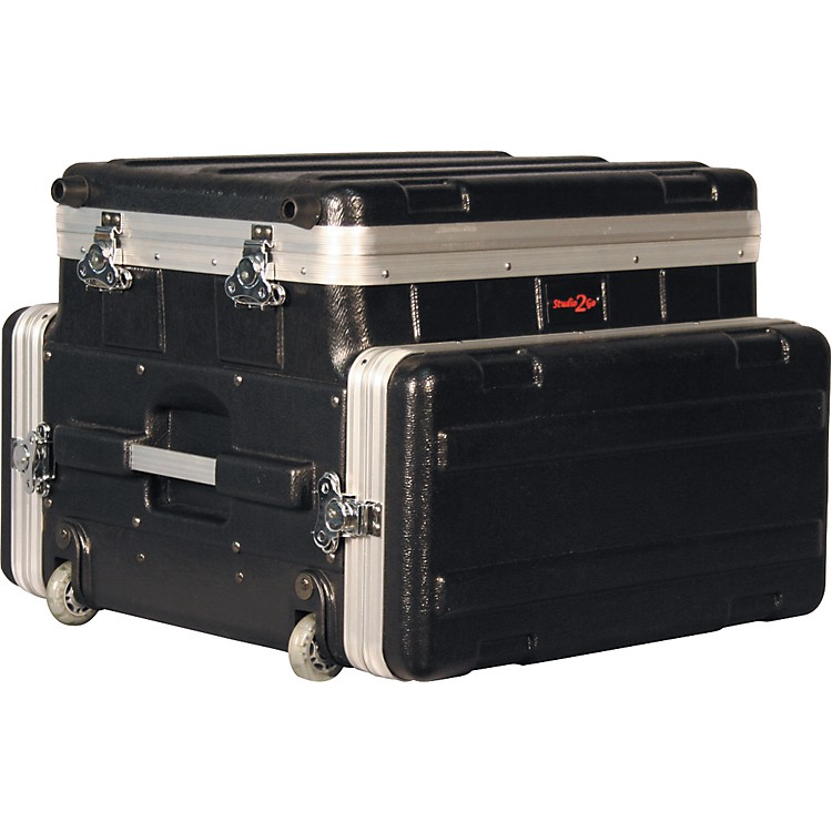 Gator GRC-Studio4Go-W Laptop or Mixer over 4U Rack Case