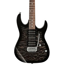 GRX70QA Electric Guitar Transparent Black Sunburst