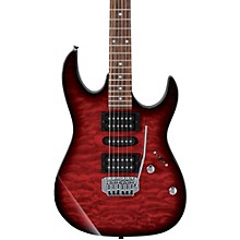 GRX70QA Electric Guitar Transparent Red Burst