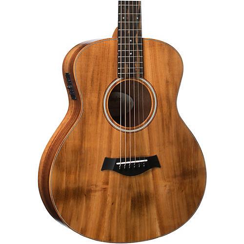 taylor gs mini series gs mini e koa acoustic electric guitar natural musician 39 s friend. Black Bedroom Furniture Sets. Home Design Ideas