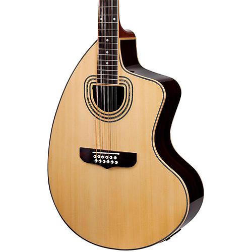 Giannini GSCRA-12 SPC CEQ Craviola 12-String Acoustic-Electric Guitar-thumbnail