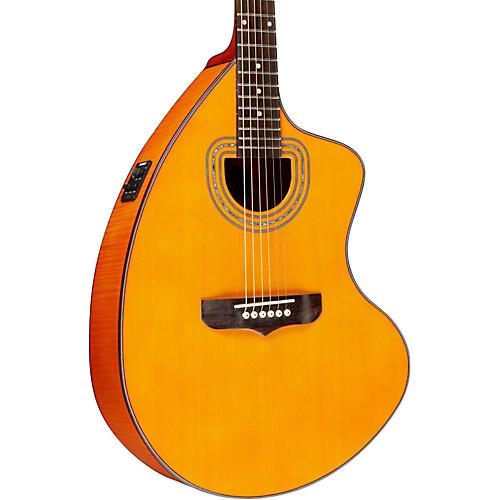 Giannini GSCRA FM CEQ N Craviola Steel String Acoustic-Electric Guitar Natural
