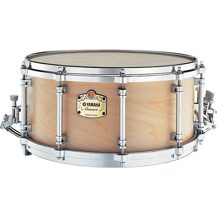 Yamaha GSM1465 Grand Symphonic Maple Snare Drum w/SS745A Stand