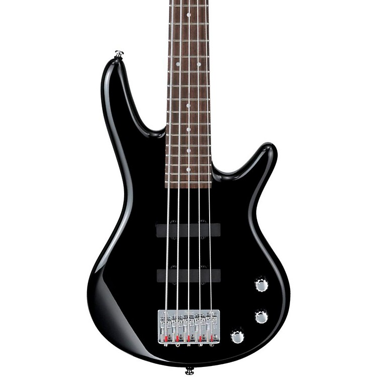 Ibanez GSR Mikro 5-String Bass Guitar Black