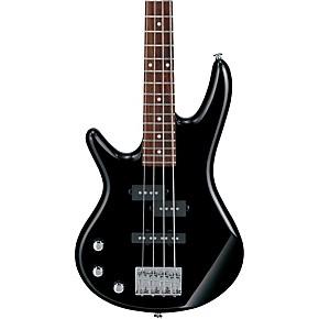 ibanez gsrm20l mikro left handed 4 string short scale bass guitar black musician 39 s friend. Black Bedroom Furniture Sets. Home Design Ideas