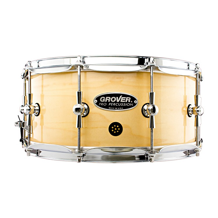 Grover Pro GSX Concert Snare Drum Charcoal Ebony 6.5x14 Inch