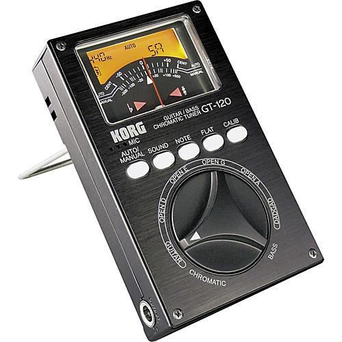 Korg GT-120 Guitar/Bass Chromatic Tuner