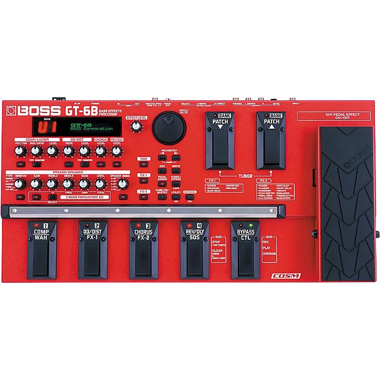 BossGT-6B Bass Effects Processor