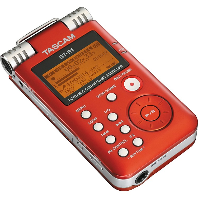 TASCAMGT-R1 Portable Guitar/Bass Recorder