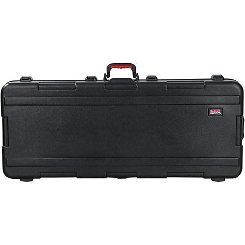 Gator GTSA-KEY61 Flight Pro TSA ATA Molded Keyboard Case with Wheels 61 Key