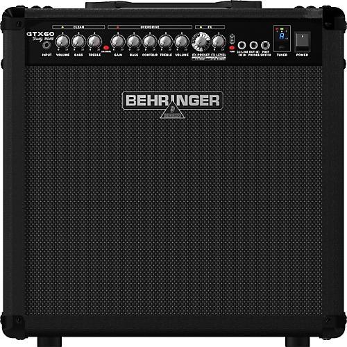 Behringer GTX60 60W 1x12 Guitar Combo Amplifier