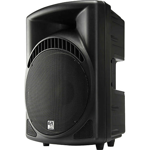 gemini gx 1501 15 powered pa speaker musician 39 s friend. Black Bedroom Furniture Sets. Home Design Ideas