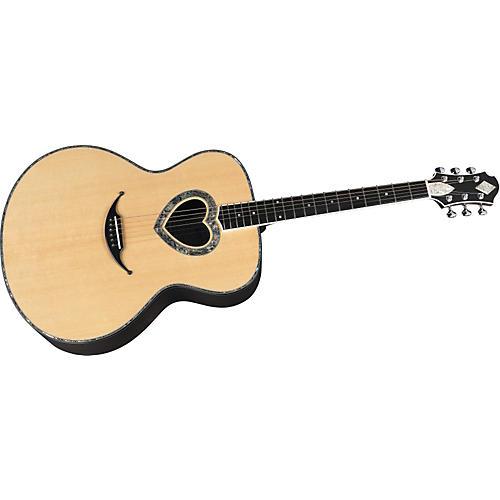 Zemaitis GZA Series GZA300-HEART Acoustic Guitar