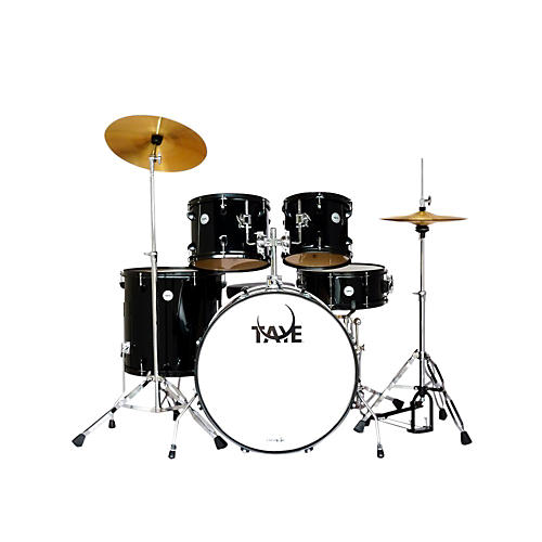 Taye Drums Galactic Series Audition 5-Piece Drumkit Black