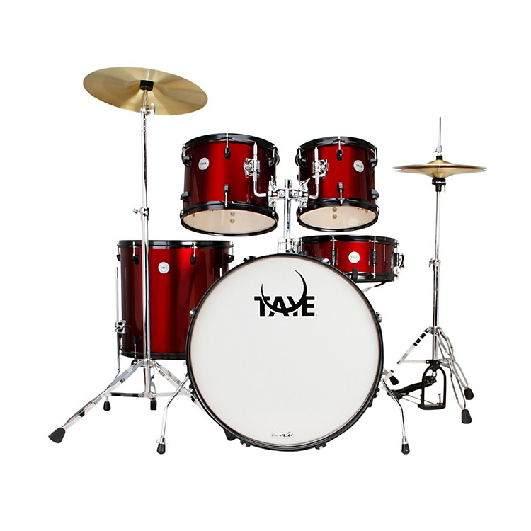 Taye Drums Galactic Series Audition 5-Piece Drumkit Red