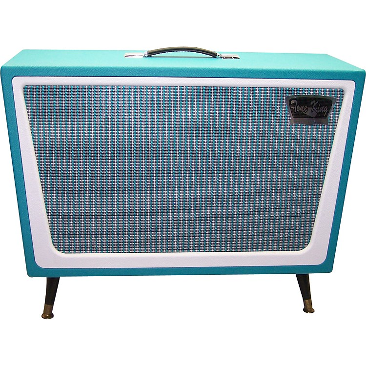 Tone KingGalaxy 2x12 Guitar Speaker CabinetTurquoise