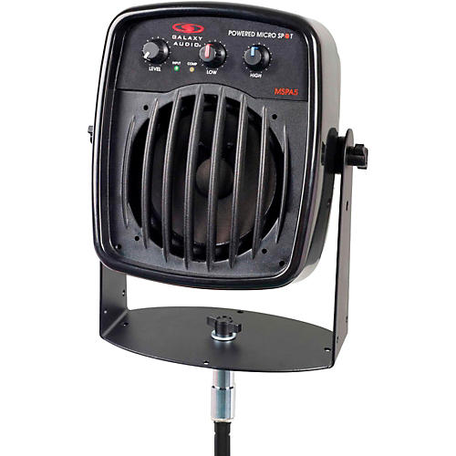 Galaxy Audio Galaxy Audio MSPA5 100W Powered Micro Spot  Compact Personal Hot Spot Stage Monitor<br>-thumbnail