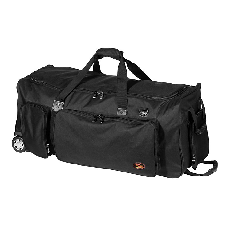 Humes & Berg Galaxy Companion Tilt-N-Pull Bag Black 30.5x14.5