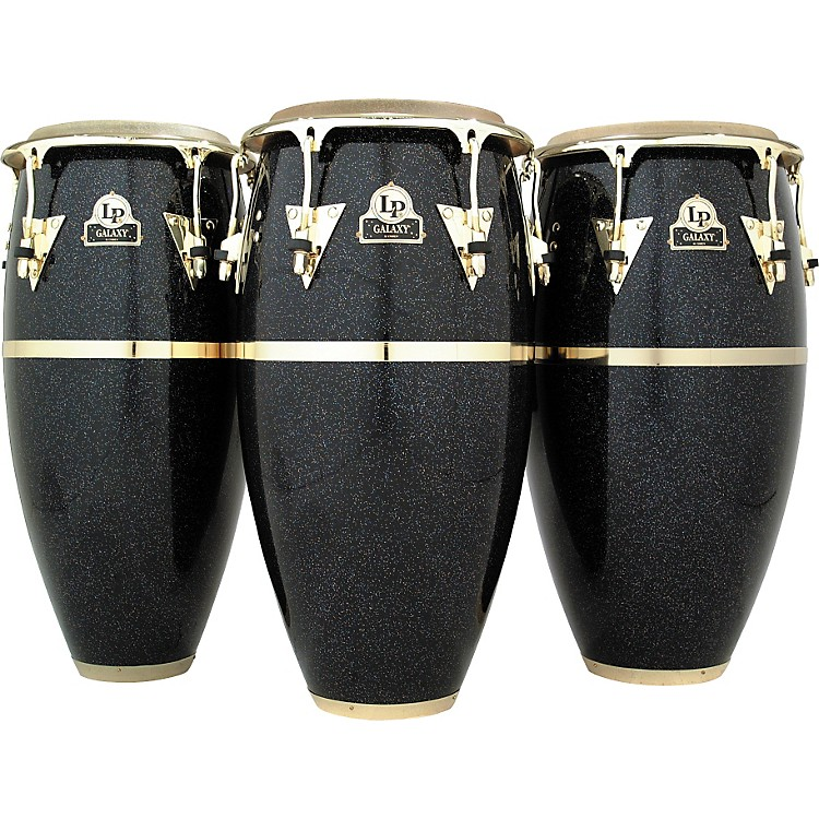 LP Galaxy Series Fiberglass Conga with Gold Hardware 11.75 Inch