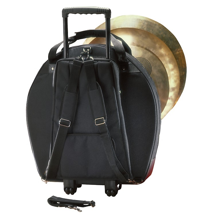 Humes & Berg Galaxy Tilt-N-Pull Cymbal Bag with Padded Dividers Black