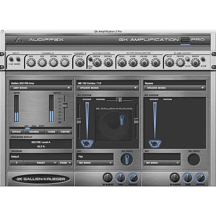 AudiffexGallien-Krueger Amp 2 Pro