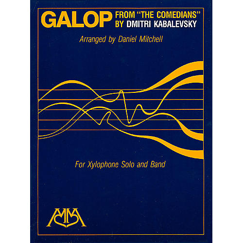 Hal Leonard Galop (from The Comedians) (Xylophone Solo and Band) Concert Band Arranged by Daniel Mitchell-thumbnail