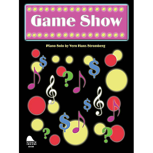 SCHAUM Game Show Educational Piano Series Softcover-thumbnail