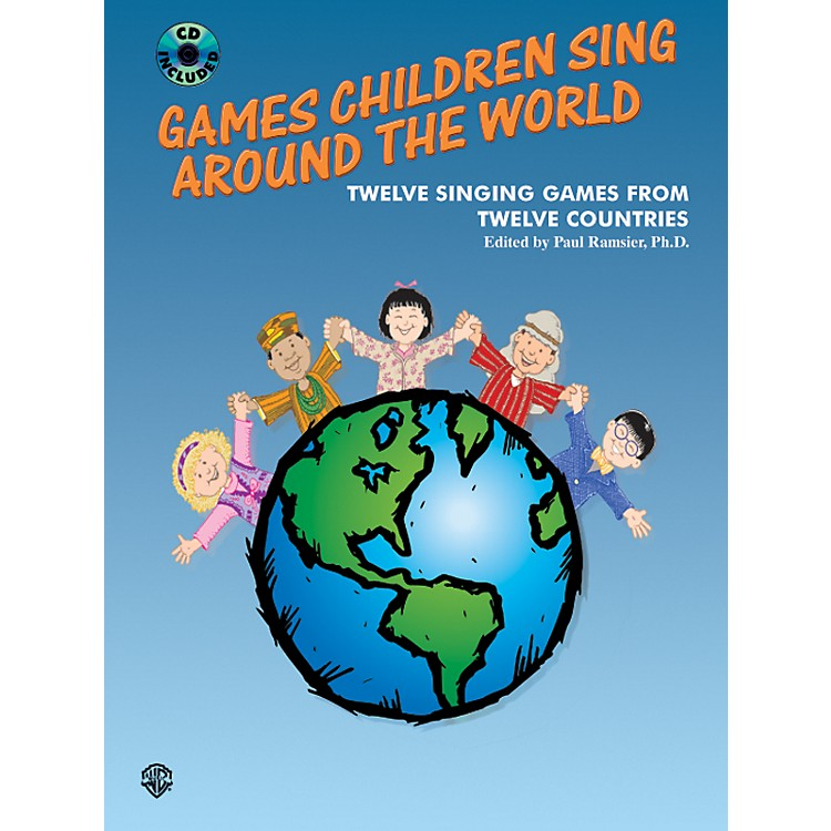Alfred Games Children Sing Around the World (Book/CD)