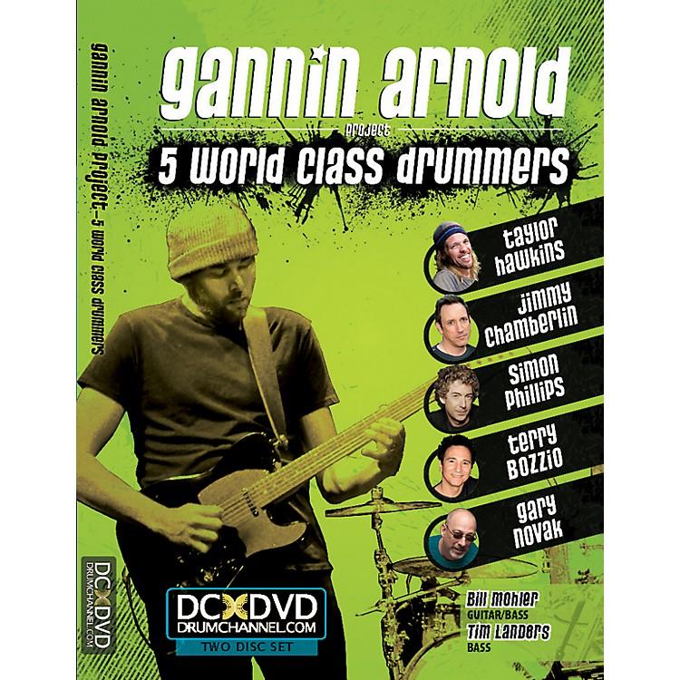 AlfredGannin Arnold - 5 World Class Drummers 2 DVD Set