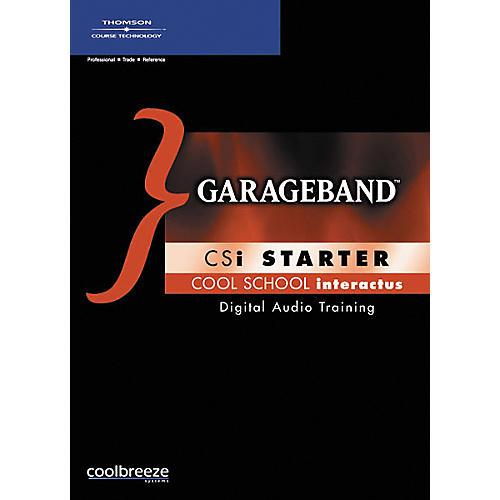 Course Technology PTR GarageBand CSi Starter (CD-ROM)