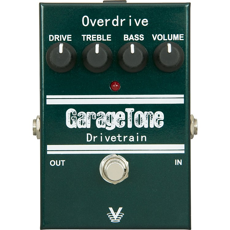 Visual Sound GarageTone Series Drivetrain Overdrive Guitar Effects Pedal