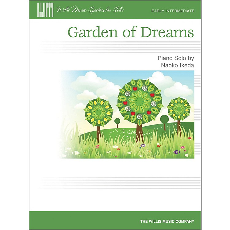 Hal Leonard Garden Of Dreams - Early Intermediate Piano Solo Sheet